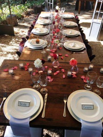 white dish set