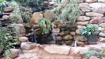 Secret Garden waterfall
