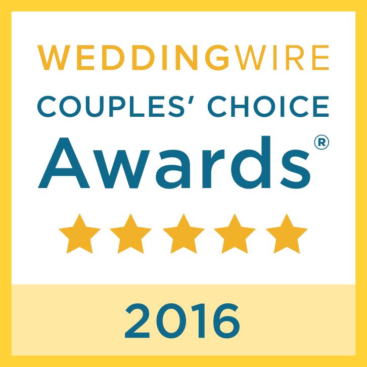 Storybrook Farm WeddingWire Award Recipient 2016