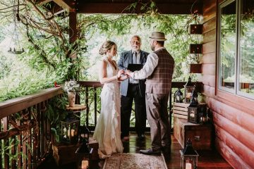 proch ceremony Storybrook Farm Sweet Snaps