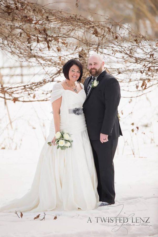 winter wedding Storybrook Farm
