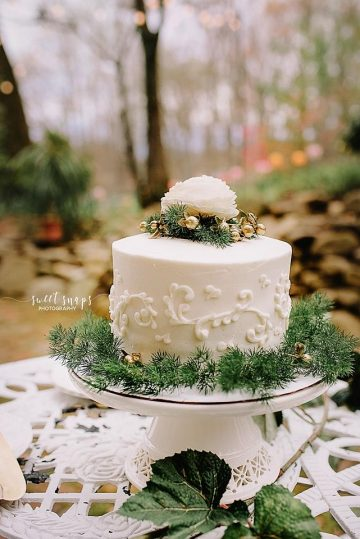 Wedding cake Storybrook Farm by Petite Sweets Bakery