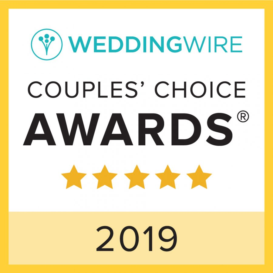 Storybrook Farm WeddingWire Couples' Choice Award 2019