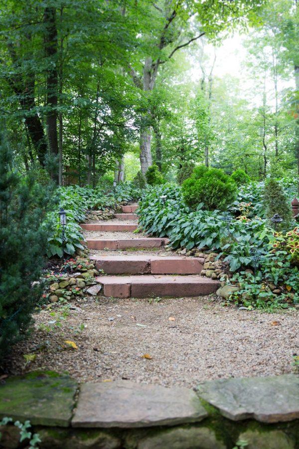 Woodland stairs. Deana Fleenor Photography
