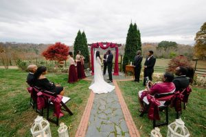 Late Autumn Microwedding at Storybrook Farm by Cable Photography