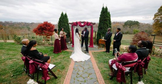 Late Autumn Micro Wedding at Storybrook Farm by Cable Photography