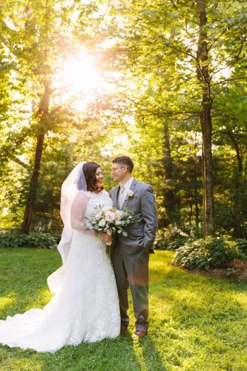 summer woods wedding Storybrook Farm Elizabeth Large Photography