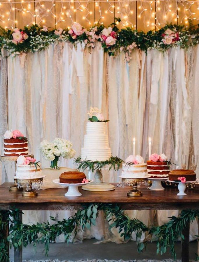 Petite Sweets cake display 2