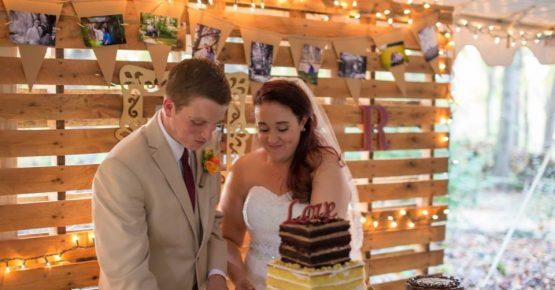 Storybrook Farm Petite Sweets wedding cake
